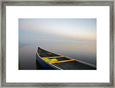 Calm Framed Print by Theo Tan