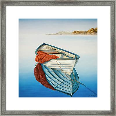 Calm Waters Framed Print by Horacio Cardozo
