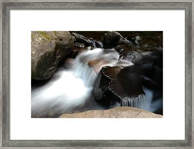 Calming Water Framed Print by Jeff Swan