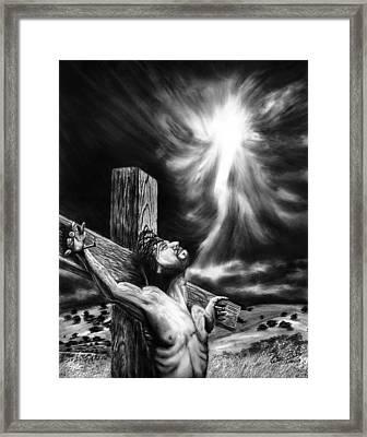 Calvary Framed Print by Peter Piatt