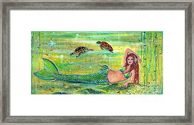 Calypso Framed Print by Renee Lavoie