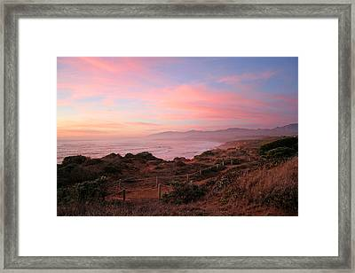 Cambria Framed Print by Michael Rock