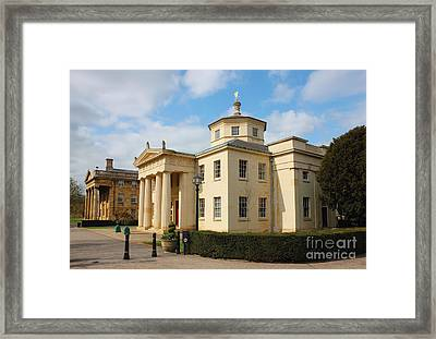 Cambridge Downing College Framed Print by Kiril Stanchev