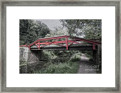 Camelback Bridge Framed Print by Tom Gari Gallery-Three-Photography