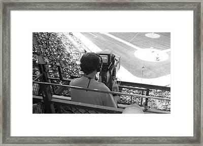 Camera's Man..... Framed Print by WaLdEmAr BoRrErO