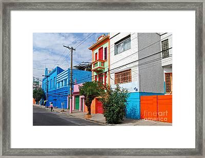 Caminito A La Paulistana Framed Print by Carlos Alkmin