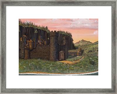 Camlochlin Castle Framed Print by James Lyman