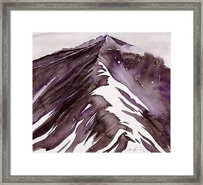 Camp Creek Ridge Framed Print by Carolyn Doe