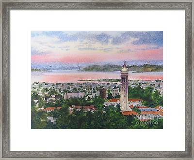 Campanille Tower Framed Print by Karol Wyckoff