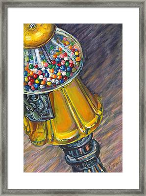 Can I Have A Penny Please Framed Print by Jami Childers