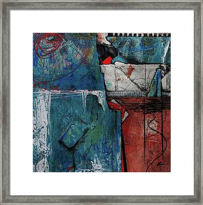 Can We Regain Our Humanity? Framed Print by Laura Lein-Svencner