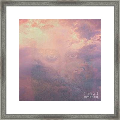 Can You See Him? Framed Print by Mindy Bench