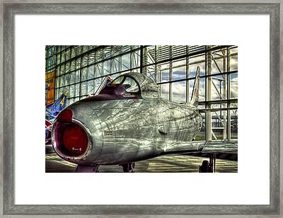 Canadair Cl-13b -f-86- Sabre Mk 6 Framed Print by David Patterson