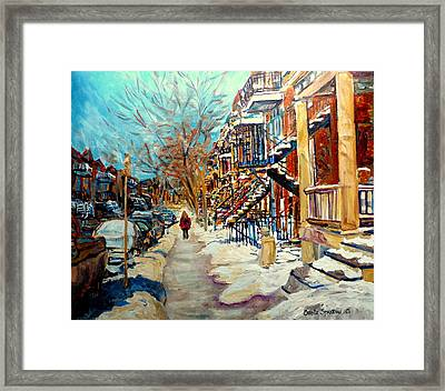 Canadian Art And Canadian Artists Framed Print by Carole Spandau