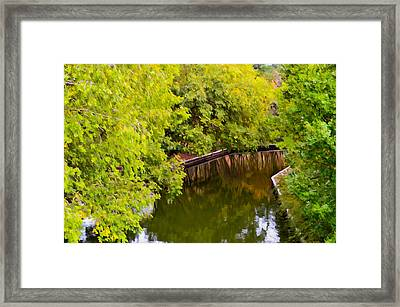 Canal 1 Framed Print by Lanjee Chee
