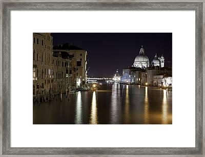 Canal Grande - Venice Framed Print by Joana Kruse
