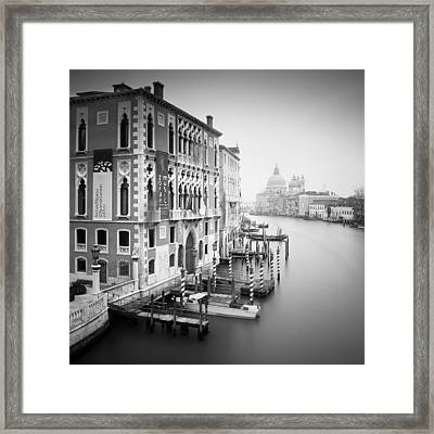 Canal Grande Study I Framed Print by Nina Papiorek