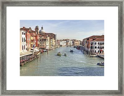 Canal Grande Venice Framed Print by Joana Kruse