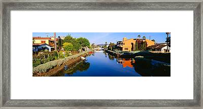 Canal, Venice, California Framed Print by Panoramic Images