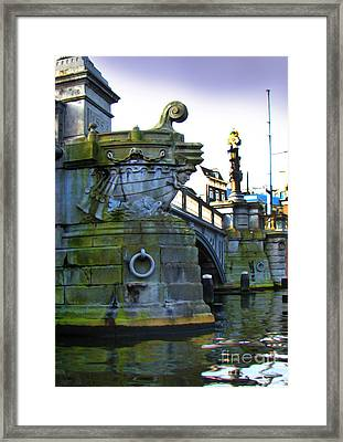 Canals Of Amsterdam Iv Framed Print by Al Bourassa