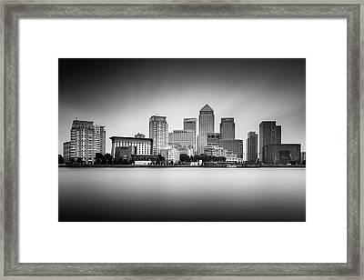 Canary Wharf, London Framed Print by Ivo Kerssemakers