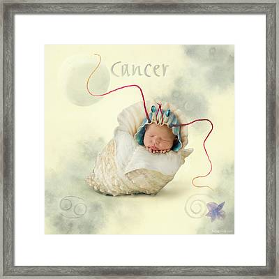 Cancer Framed Print by Anne Geddes