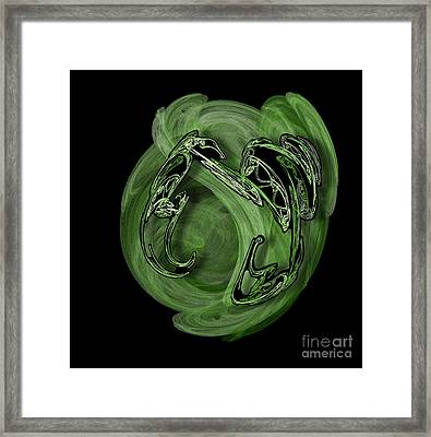 Cancer Is The Most Sensitive Soul Framed Print by Viktor Savchenko