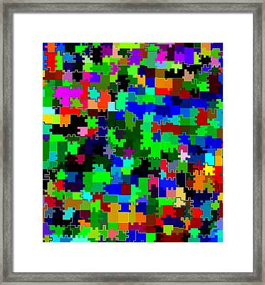 Candid Color 2 Framed Print by Will Borden