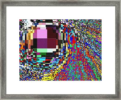 Candid Color 7 Framed Print by Will Borden