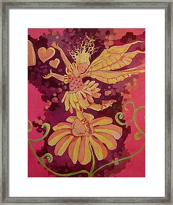 Candy 3 Framed Print by Jackie Rock