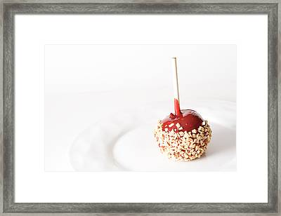 Candy Apple Framed Print by James BO  Insogna