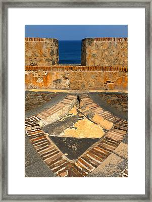 Cannon Portal Framed Print by Stephen Anderson