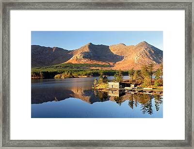 Canoe Club In Connemara Ireland Framed Print by Pierre Leclerc Photography