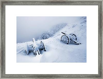 Canons Framed Print by Evgeni Dinev
