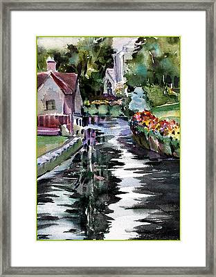 Canterbury Englands Westgate Framed Print by Mindy Newman