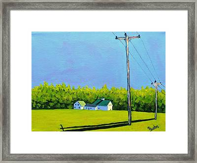 Canton Morning Framed Print by Laurie Breton