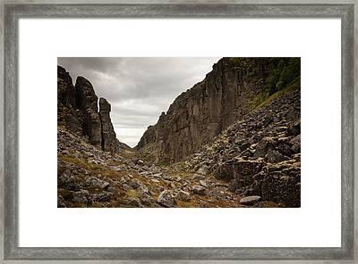 Canyon Aku Aku Framed Print by Konstantin Dikovsky