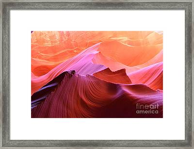 Canyon Arizona - Sand Stone Framed Print by Thomas Jones