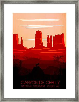 Canyon De Chelly National Monument 1- By Diana Van Framed Print by Diana Van