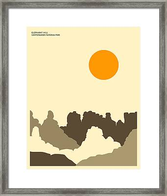 Canyonlands National Park Framed Print by Jazzberry Blue