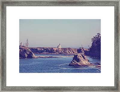 Cape Arago Framed Print by Scott Pellegrin