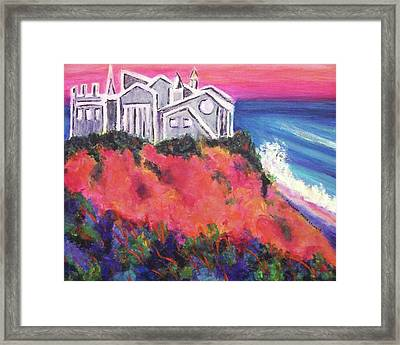 Cape Cod Castle Framed Print by Suzanne  Marie Leclair