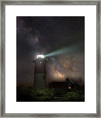 Cape Cod Celestial Outpost Framed Print by Bill Wakeley