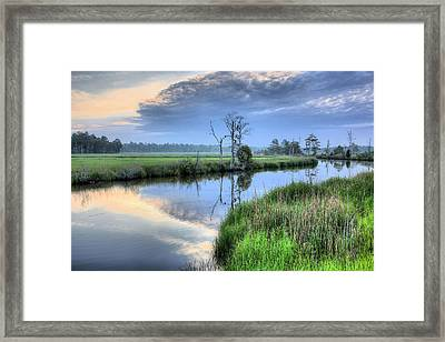 Cape Fear Morning Framed Print by JC Findley