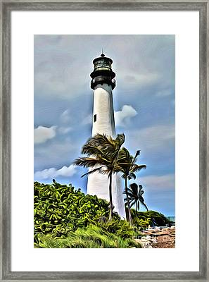 Cape Florida Framed Print by Carey Chen