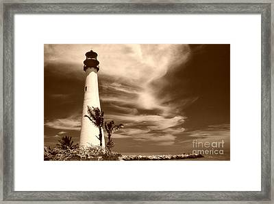 Cape Florida Framed Print by Skip Willits