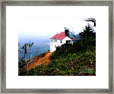 Cape Foulweather Framed Print by Methune Hively