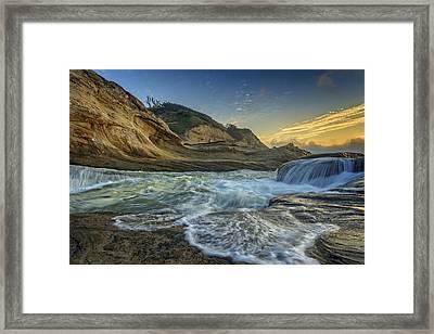 Cape Kiwanda Framed Print by Rick Berk
