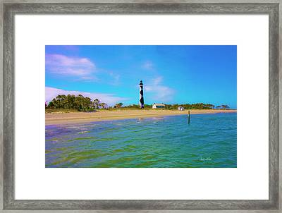 Cape Lookout 1 Framed Print by Betsy Knapp