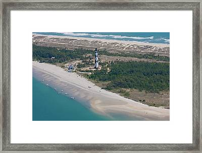 Cape Lookout 6 Framed Print by Betsy Knapp